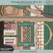 Vintage Memories Mini Kit