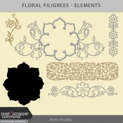 Floral Filigrees- Elements