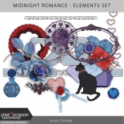 Midnight Romance- Elements Set