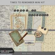 Times To Remember- Mini Kit