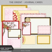The Orient- Journal Cards