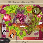 The Desperate Housewife Wine Kit Embellishments