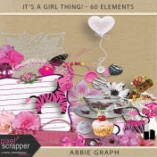 It's A Girl Thing!- Embellishments Kit