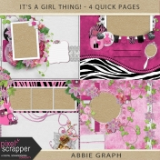 It's A Girl Thing!- Quick Pages Kit