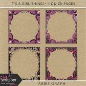 It's A Girl Thing!- Ornate Frames Kit