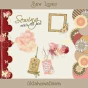 Sew Loved Kit- Borders/Tags/Paint