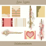 Sew Loved Kit- Journal Cards & Clusters