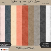 Walk on the Wild Side- solid grunge/texture papers