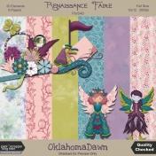 Renaissance Faire blog train- mini kit
