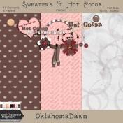 Sweaters and Hot Cocoa- blog train mini