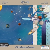August 2020 Blog Train - Galaxy, Mini Kit
