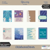 August 2020 Blog Train - Galaxy, Pocket Cards & Journal Cards