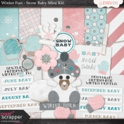 Winter Fun- Snow Baby Mini Kit