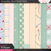 Spring Day Collab- March Winds Papers