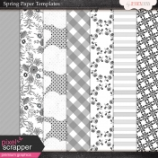 Spring Paper Templates