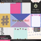 Digital Day Collab- Journal Cards
