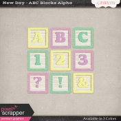 New Day Baby ABC Blocks Alpha
