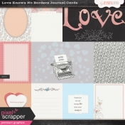 Love Knows No Borders- Journal Cards