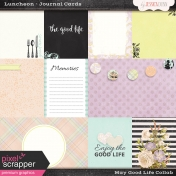 May Good Life- Luncheon Journal Cards