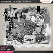 Spring Day Templates- Elements