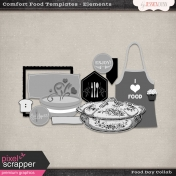 Comfort Food Templates- Elements