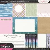 Summer Twilight Journal Cards