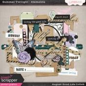 August Good Life- Summer Twilight Elements