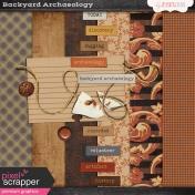 Backyard Archaeology Mini Kit
