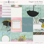 Singin' in the Rain Journal Cards