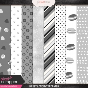 Sweets Paper Templates