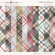 Old Farmhouse Plaid Papers