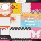 Bohemian Sunshine Journal Cards