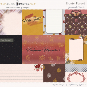 Frosty Forest Journal Cards