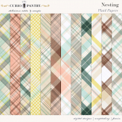 Nesting Plaid Papers