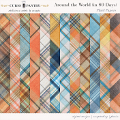 Around the World {In 80 Days} Plaid Papers