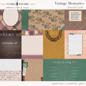 Vintage Memories: Genealogy Journal Cards