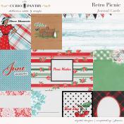 Retro Picnic Journal Cards