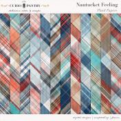 Nantucket Feeling Plaid Papers