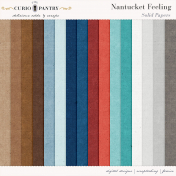 Nantucket Feeling Solid Papers