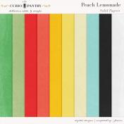 Peach Lemonade Solid Papers