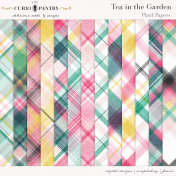 Tea in the Garden Plaid Papers