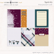 Apricity Print: Journal Cards