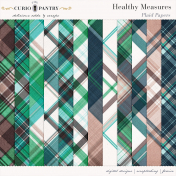 Healthy Measures Plaid Papers