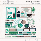 Healthy Measures Print: Elements