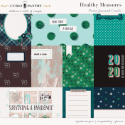 Healthy Measures Print: Journal Cards