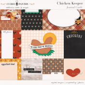 Chicken Keeper Journal Cards