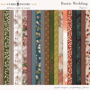 Rustic Wedding Papers