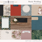 Rustic Wedding Journal Cards