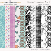 Spring Paper Templates No. 1