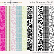 Spring Paper Templates No. 2